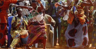 danza áfrica