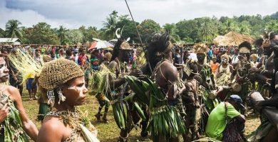 mujeres tribu